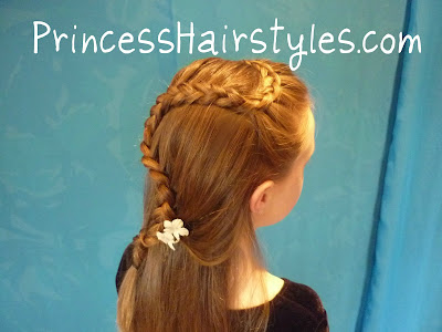 cascading french braid
