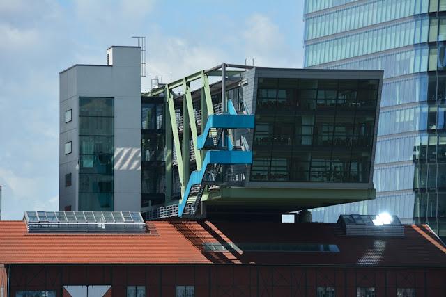 Medienhafen Dusseldorf modern shape