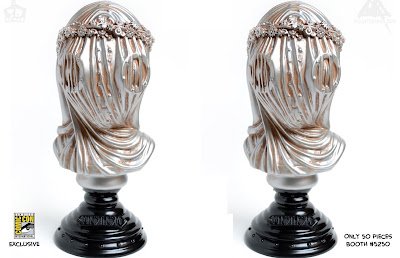 San Diego Comic-Con 2018 Exclusive Anethesia Silver Edition Vinyl Bust by Doktor A x 3DRetro