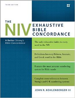 Pastor Dan's Thoughts and Book Reviews: The NIV Exhaustive