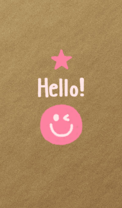 Hello! Smile(pink)