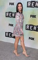 Vanessa Hudgens at Rent: Live TV Show