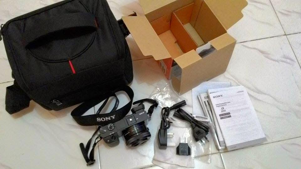paket penjualan sony alpha a6000