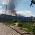Fogo atinge a Chapada Diamantina na região entre o Vale do Pati e Andaraí