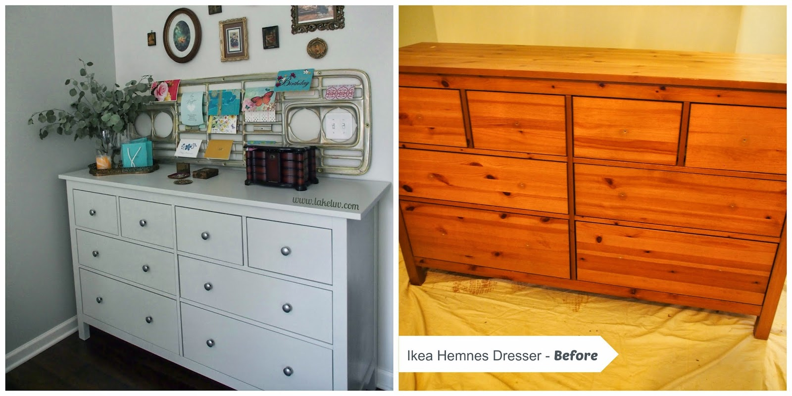Repainting Furniture Ikea Dresser