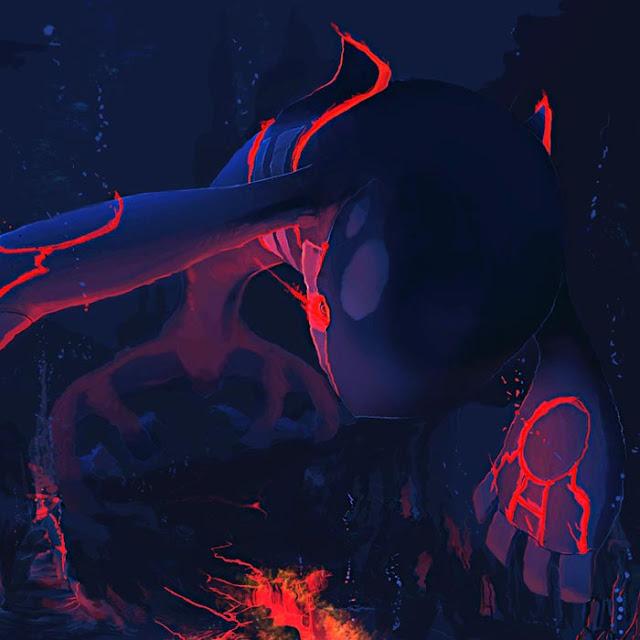 Deep Sea Kyogre (Pokemon) Wallpaper Engine