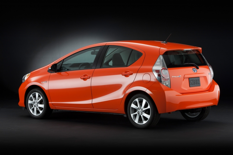 Following The North American Debut Of All New 2017 Prius C At International Auto Show In Detroit Toyota Motor S Tms