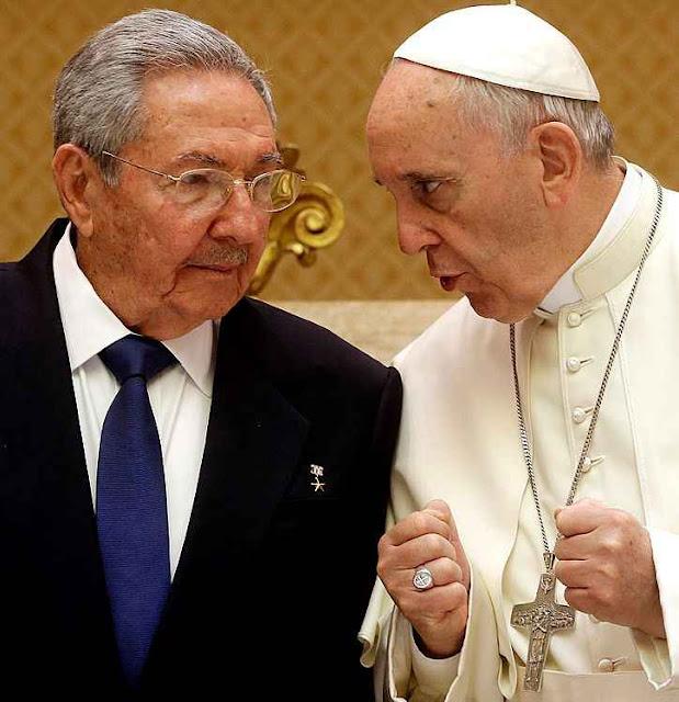 O Papa Francisco e o ditador de Cuba patrocinaram acordos desastrosos para a Colômbia