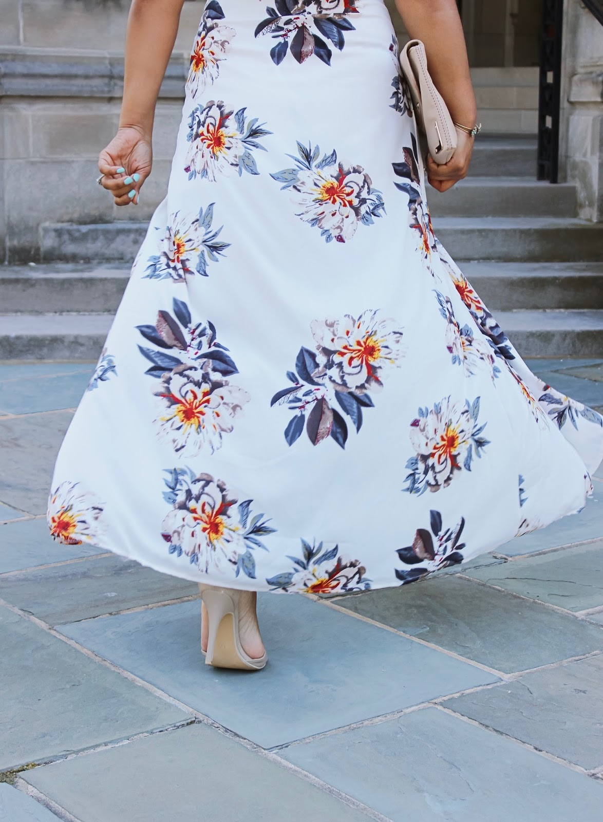 What To Wear To A Summer Wedding, Amiclubwear, floral dress, summer outfits, wedding guest outfit ideas, open back dress, summer dress, Amiclubwear dresses, open leg dress, flowy dress, dressed up outfit ideas, wedding guest attire