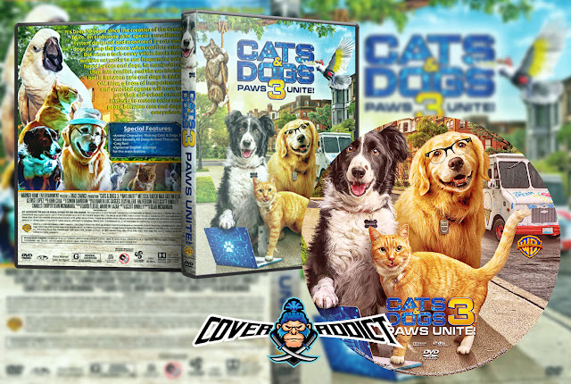 Cats & Dogs 3: Paws Unite (2020) DVD Cover