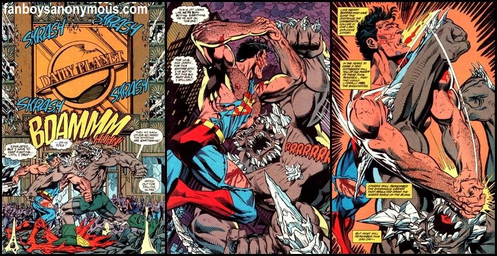 DC Comics' The Death of Superman in 1992