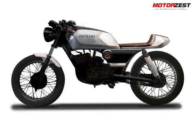 Dochaki Blade - A Custom Cafe Racer made from Yamaha RXZ