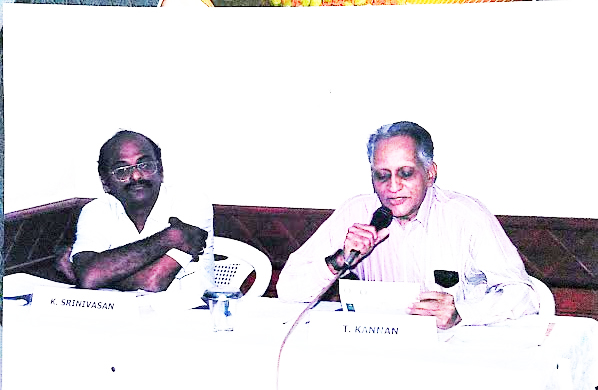 K Srinivasan and T Kannan