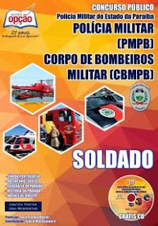 Apostila Concurso Público PB-PB para Curso de Formação de Soldados da Polícia Militar PB
