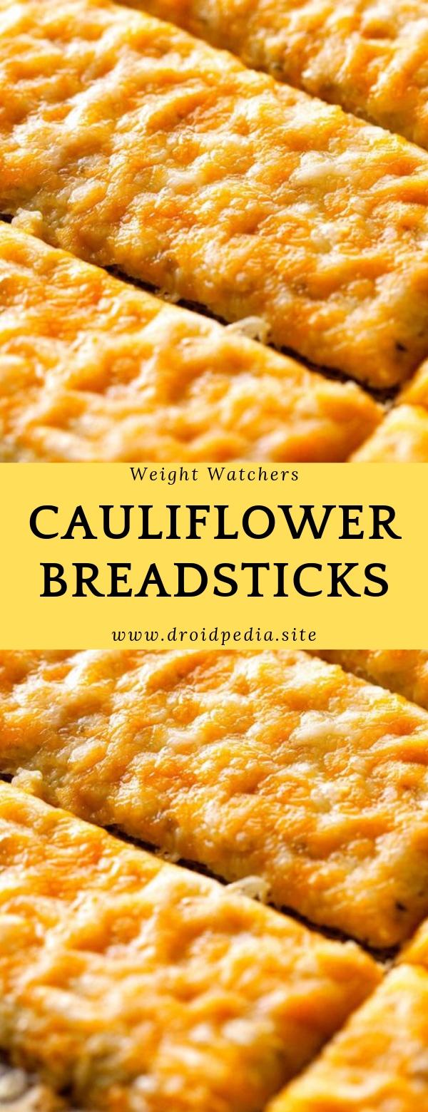 Weight Watchers Cauliflower Breadsticks #dinner #cauliflower #slowcooker
