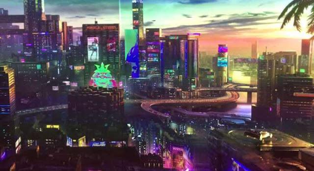 مدينة Night City في لعبة Cyberpunk 2077 ستكون متطابقة مع المدن الحقيقية و تفاصيل رهيبة من المطورين ..