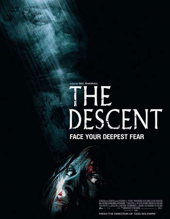 Poster Of The Descent 2005 English 400MB BRRip 720p ESubs HEVC Free Download Watch Online Downloadhub.Net