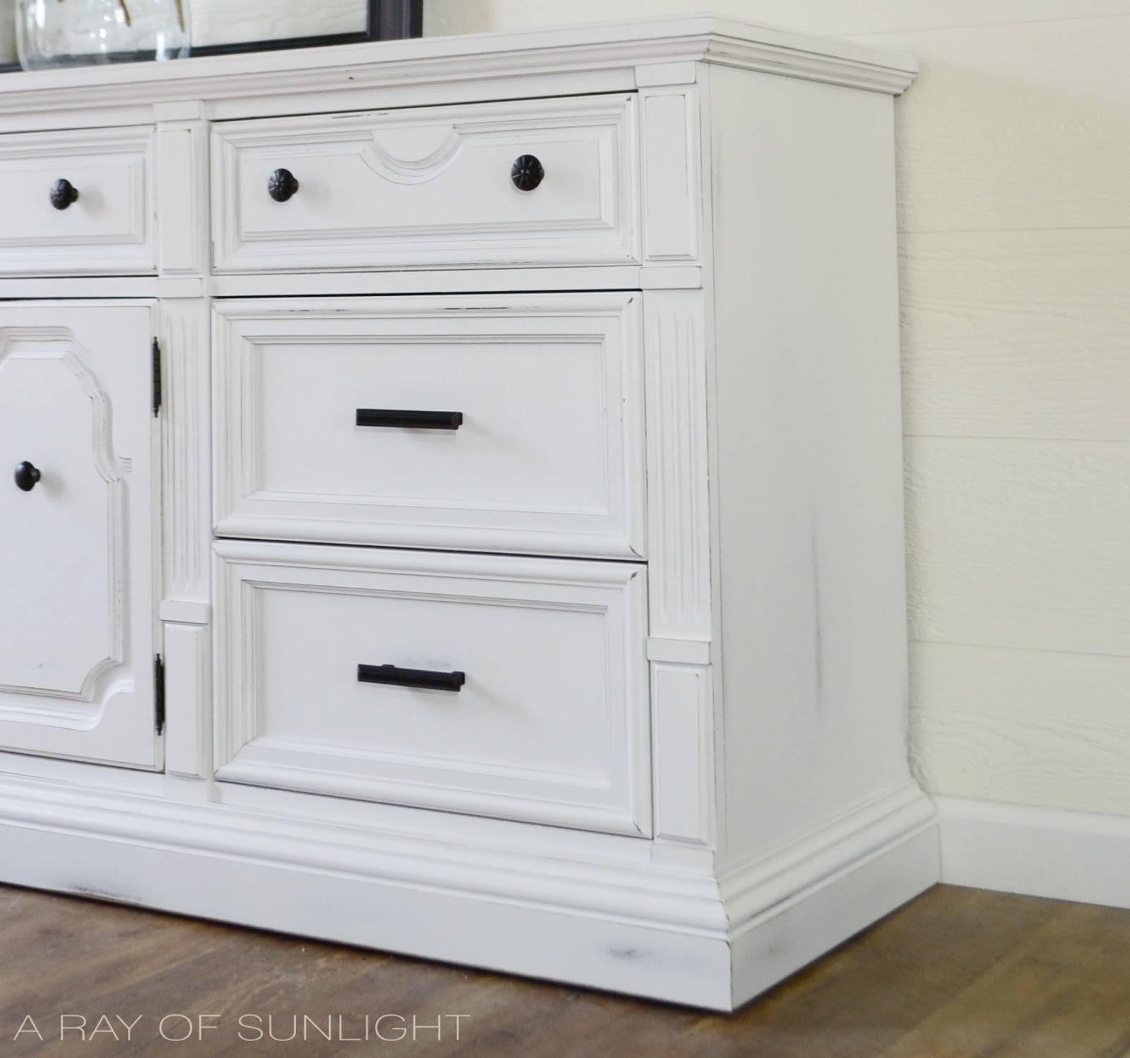 size white full large modern dresser long drawers drawer