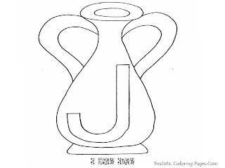 Alphabet Coloring Pages J For JAR