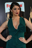 Laxmi Rai in a Deep neck Beautiful Green Gown Cute Actress Laxmi Rai ~  049.JPG