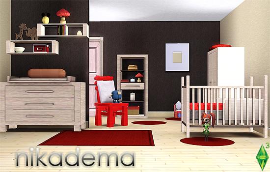 Los sims 3 objetos para beb s e infantes pekesims for Cuartos para ninos sims 4