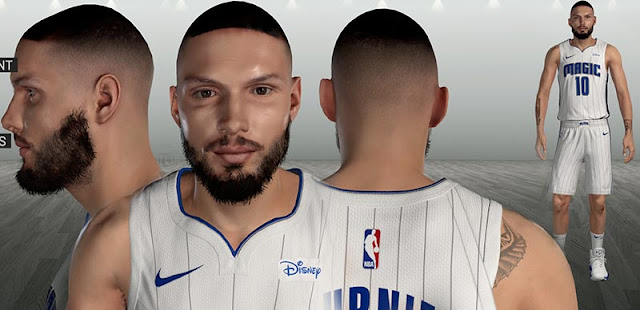 Evan Fournier Cyberface