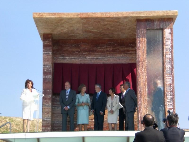 Inauguración del Monolito Juan Carlos I en San José de La Rinconada (Sevilla) - Estudio Honorio Aguilar