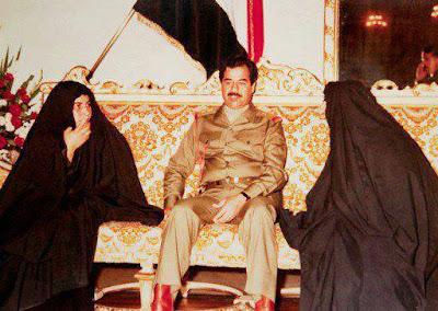 صور صدام حسين النادرة