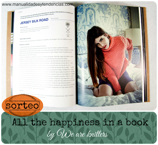 Sorteo del libro All the happinnes in a book de We are knitters