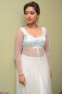 Anu Emmanuel in a Transparent White Choli Cream Ghagra Stunning Pics 057.JPG