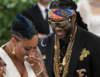 2 Chainz Proposes To Girlfriend Nakesha met gala