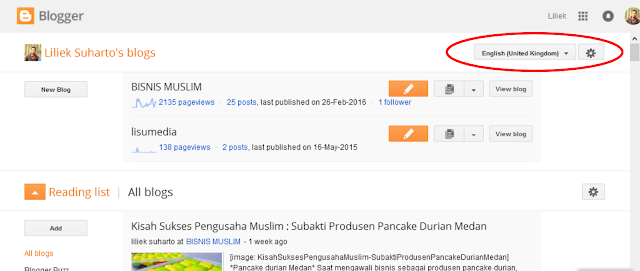 "Cara Mengatasi Muncul Pesan ""Tidak dapat menyimpan setelan penghasilan""  atau ""Could not save earnings settings Google Adsense lisucorp.blogspot.com"