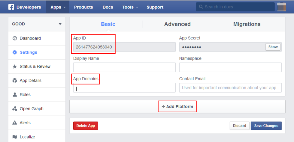 How to put Facebook button into blogger