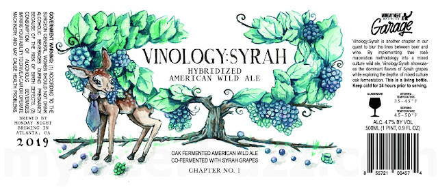Monday Night Working On Vinology: Syrah