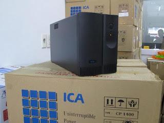 Darmatek Jual UPS ICA CP-1400 Kapasitas 1400VA