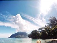 Pantai Jikomalamo Surga tersembunyi di Ternate