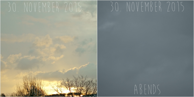 Blog + Fotografie by it's me! - Himmel am 30.11.2015