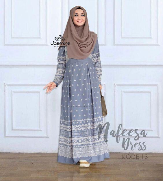 60 Model Baju Muslim Untuk Wanita Terpopuler 2019 Model Baju