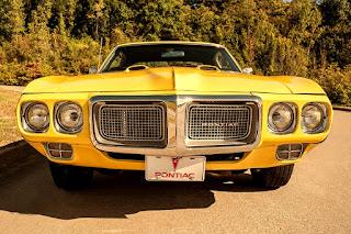 1969 Pontiac Firebird Sport Coupe Front
