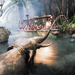 Jungle Cruise ride at Disneyland