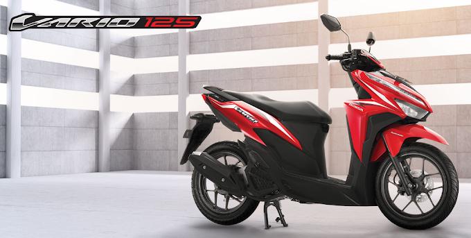 Pilihan Warna Honda Vario 125 Facelift MY2018