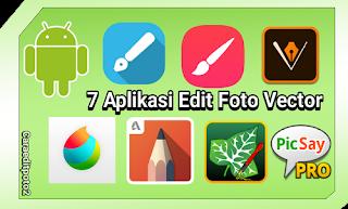 Aplikasi edit foto vector terbaik android