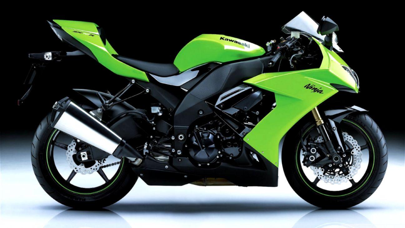 Kawasaki Ninja Zx10r Green Hd Wallpaper Smart Wallpapers