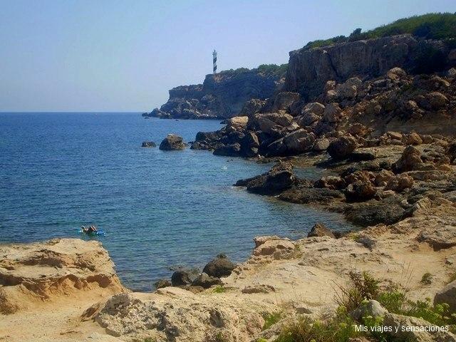 Punta des Moscarter, Ibiza