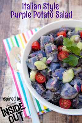 Inside Out Purple Potato Salad