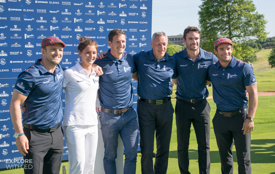 Team Scotland at The Celebrity Cup 2017
