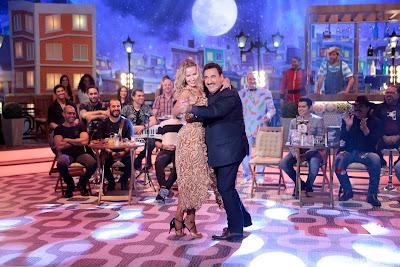 Ratinho dança com Lola Melnick – Lourival Ribeiro/SBT