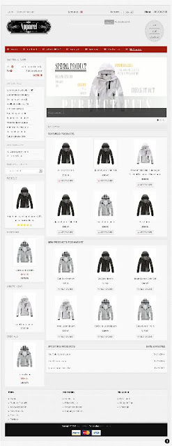 Free osCommerce 2.3.3 Template for Apparel Store