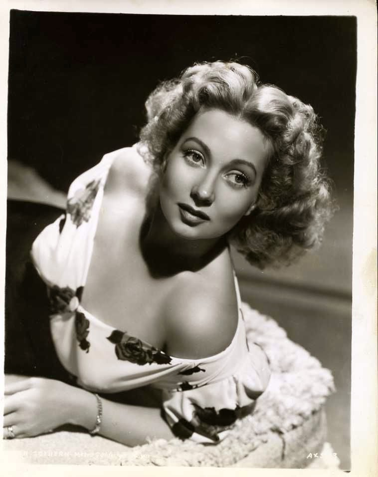American actress Ann Sothern - Vintage Photograph