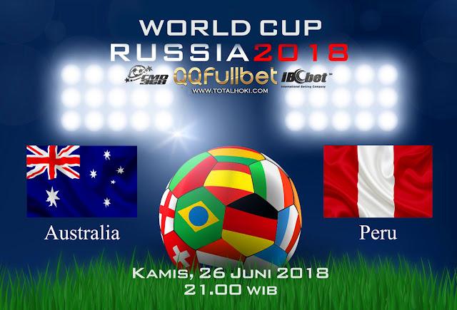 BOLA88 - PREDIKSI BOLA PIALA DUNIA : AUSTRALIA VS PERU 26 JUNI 2018 ( RUSSIA WORLD CUP 2018 )